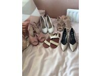 Selection of shoes never worn