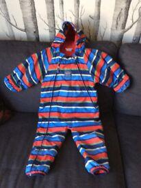 Jo Jo Maman bebe snow suit 12-18months unisex