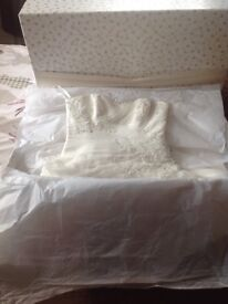Blue by Enzoani Wedding Dress size 10