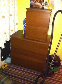 Ikea 3 piece drawer set