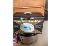 Prem-I-Air warm mist Humidifier