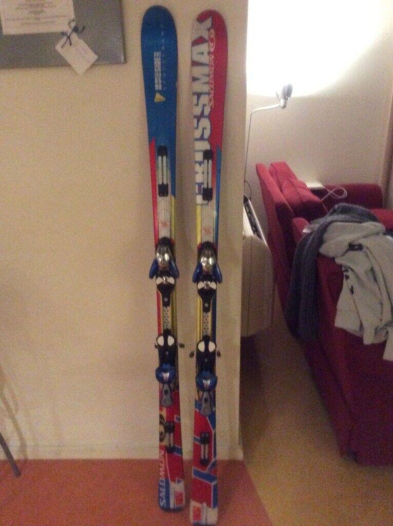 Salomon Crossmax Skis size 165 with Salomon S912TI bindings   in Southwark, London   Gumtree