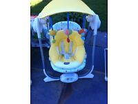 Chicco Polly Swing Yellow ** Excellent Condition **