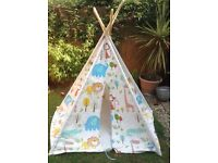 Play tent. Quality Cotten