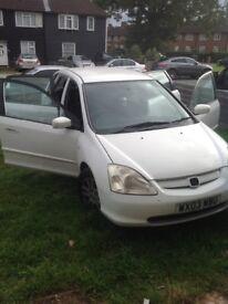 Honda civic similar to toyota yaris,nissan micra,Vauxhall astra,vw golf,vw polo