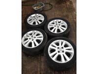 Vauxhall Astra/Zafira/Corsa 16 inch 4 stud Alloys 205/50/16.