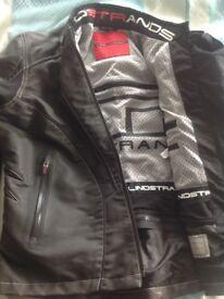 Ladies motorcycle jacket. Lindstrands by Halvarssons. size large