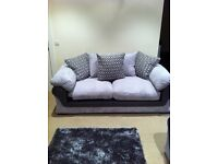 3-1-1 grey fabric sofa