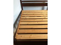 Double bed for sale in good condition £50.00