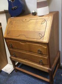 Lovely Old oak bureau