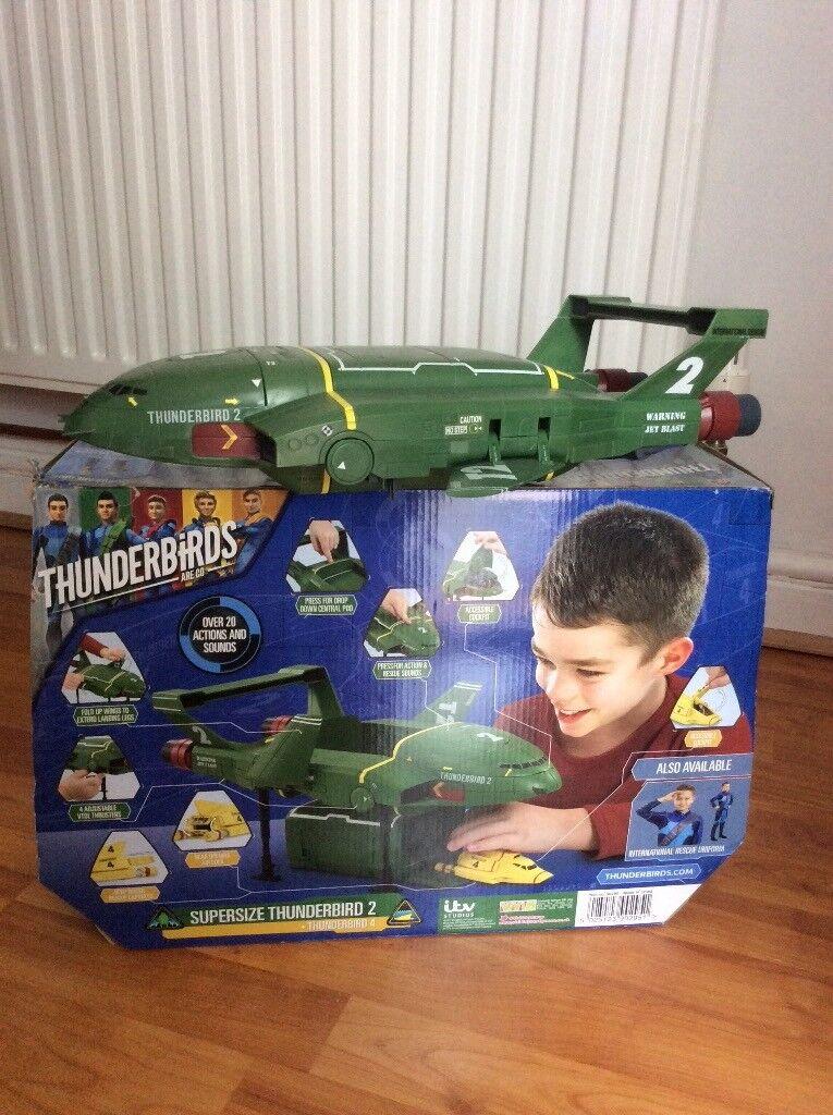 Thunderbirds supersize toy