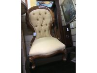 Vintage French style bedroom chair