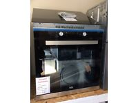 Single electric built in oven new/graded 12 months gtee
