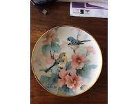 Franklin mint heirloom Limited Edition Spring Time porcelain plate