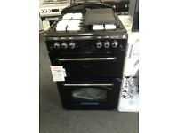Leisure 60cm black gas cooker. £349 RRP £549 new/graded 12 month Gtee