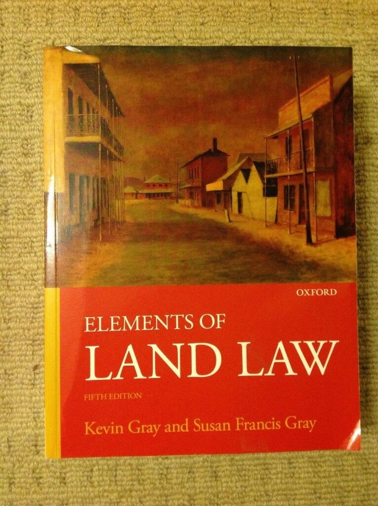 Law book, Elements of Land Law