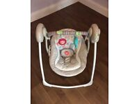 Bright Starts Cozy Kingdom Portable Swing (Nearly New)
