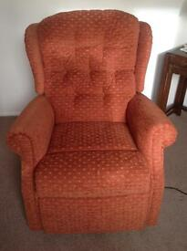 Celebrity 'Woburn' Rise & Recline Armchair . IMMACULATE CONDITION