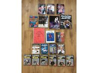 Job Lot of COMBAT FIGHTING/MARTIAL ARTS DVDs and BOOKS