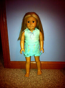 RETIRED AMERICAN GIRL 2003 DOLL OF THE YEAR KAILEY IN ORIGINAL DRESS BLONDE BROW