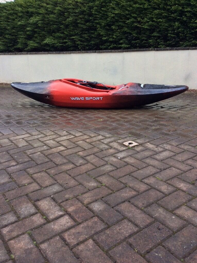Wavesport Diesel 80 Whitewater Kayak Used 4 Times Superb