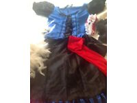 Burlesque fancy dress outfit size small