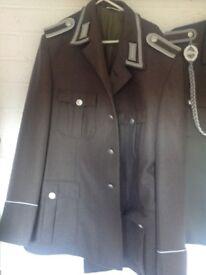 East German Cold War uniform coats and hats