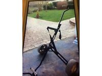Large Push Golf Trolley for sale
