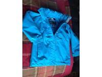 Trespass coat 3/4yr old