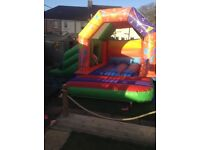 Candy cart and bouncy castle hire