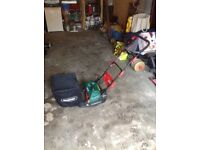 Qualcast electric cylinder lawnmover