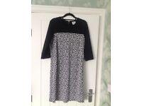 Black New Look Maternity Dress