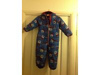 Boy's snowsuit by Next. Age 2 - 3 years