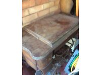 Sewing Table with original sewing machine