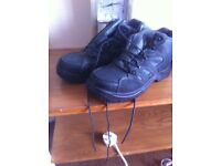 Steel toe cap ankle shoe/boots
