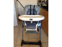 chicco mamma high chair- very good condition