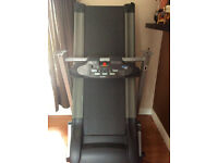 Carl Lewis motorised treadmill with incline
