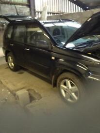 2003/5 Nissan x trail td breaking for spare parts cheap