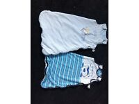 2 baby boy sleeping bags
