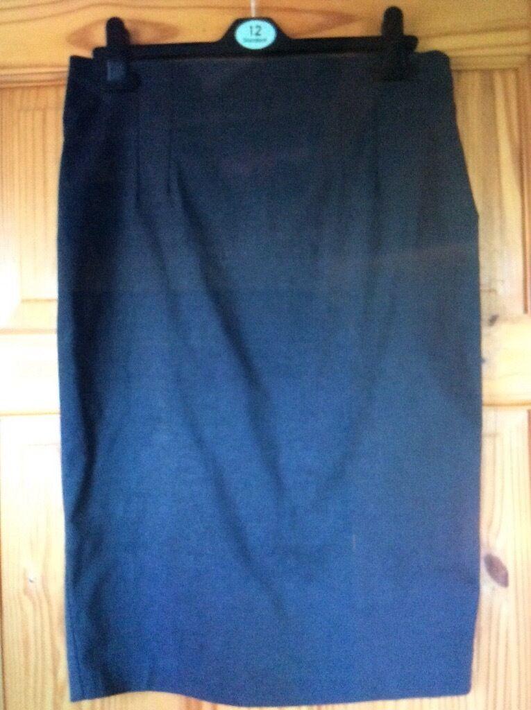 Women's grey skirt size 12
