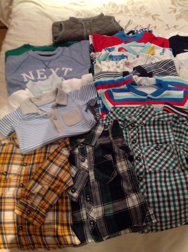 BABY BOY CLOTHES BUNDLE - Size 3-6 months
