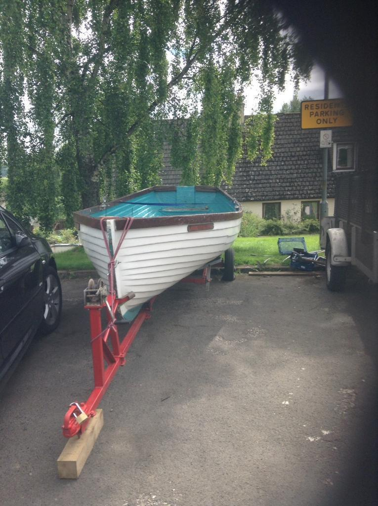 16ft Fibreglass open boat