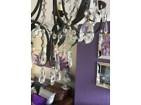Set of 2 Stunning 5 light Chandeliers