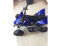 50cc mini quad sounds like it wants to start was working month or two ago but can't get it started