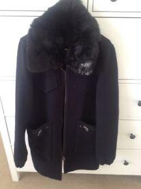 Ladies topshop coat size 10
