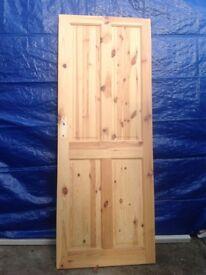 Solid Pine internal doors.