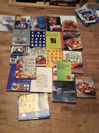 Excellent condition cookery booksand gardening books