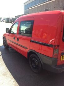 Vauxhall combo crew van spares or repair/export/protect ect