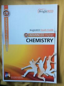 BrightRED Advanced Higher Chemistry study guide