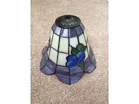 Tiffany-style pendant lamp shade £20